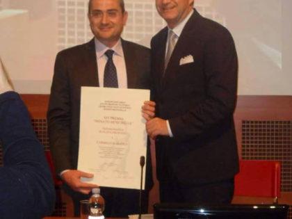 Premio Nuove Testimonianze Donato Menichella all'Ingegnere Carmelo Marangi